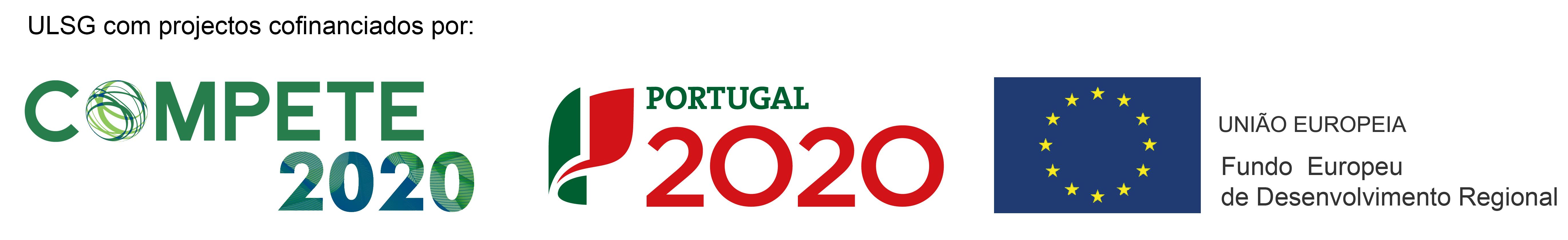 ULSG com projectos cofinanciados por: Compete 2020, Portugal 2020, União Europeia Fundo Europeu de Desenvolvimento Regional