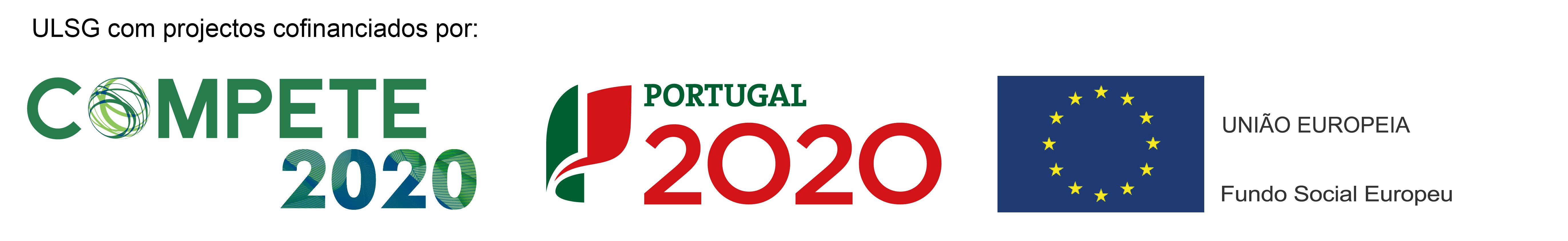 ULSG com projectos cofinanciados por: Compete 2020, Portugal 2020, União Europeia Fundo Social Europeu